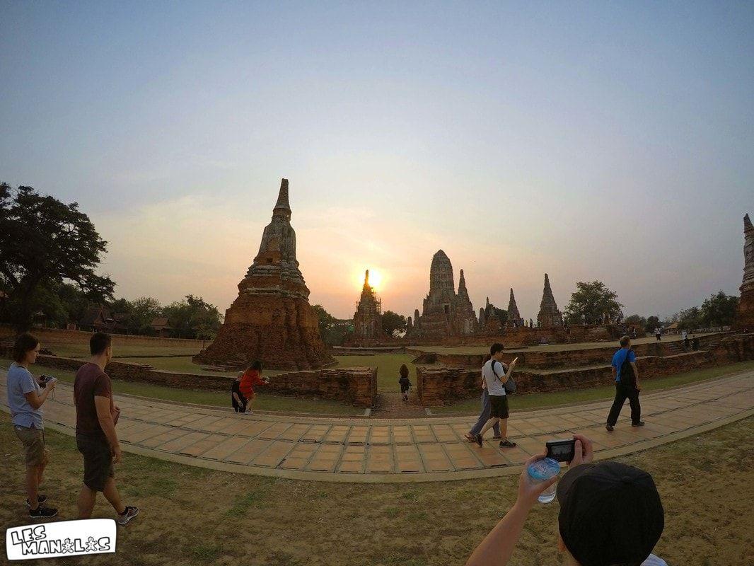 lesmanalas_ayutthaya_wat