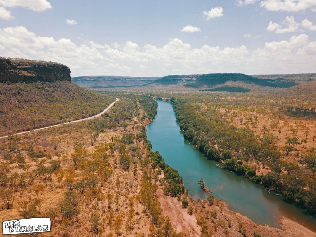 18/10/2018 - Gregory National Park vu aérienne en drone