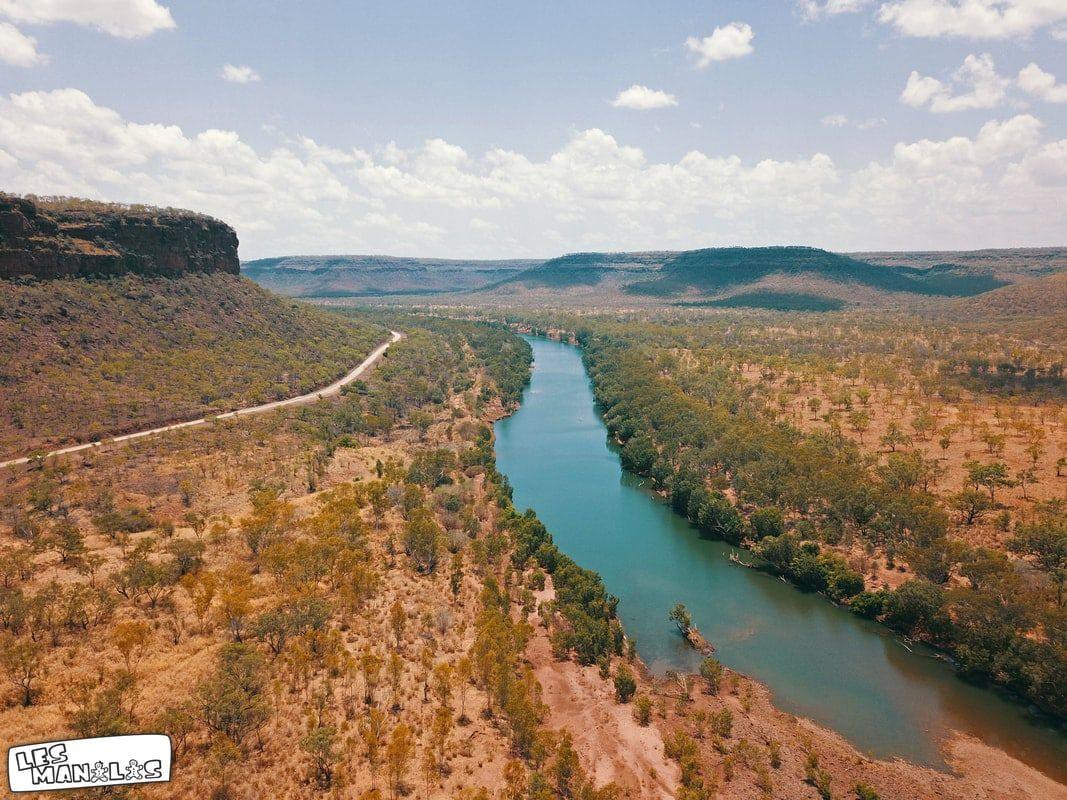 18/10/2018 - Gregory National Park vu aérienne en drone