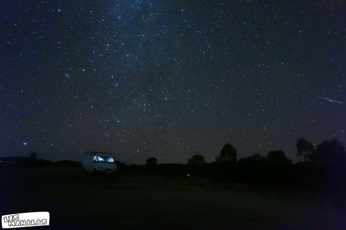 Ciel étoilé en Australie