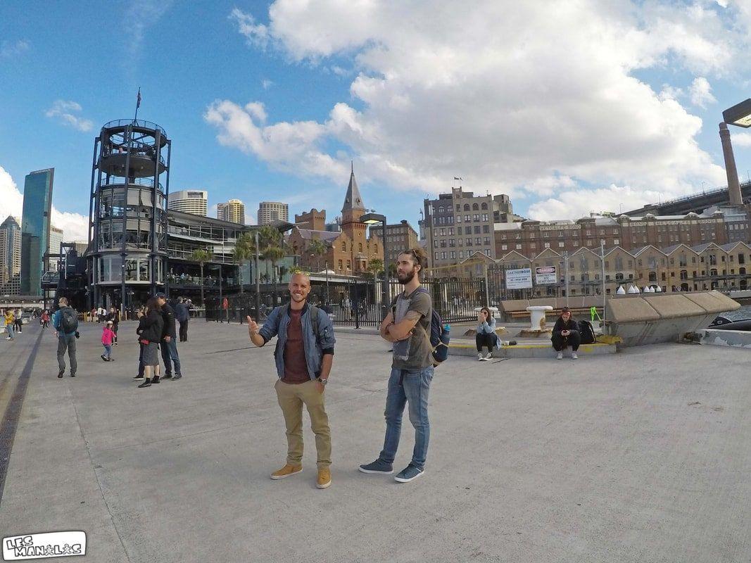 En ballade dans Sydney avec notre guide Coco
