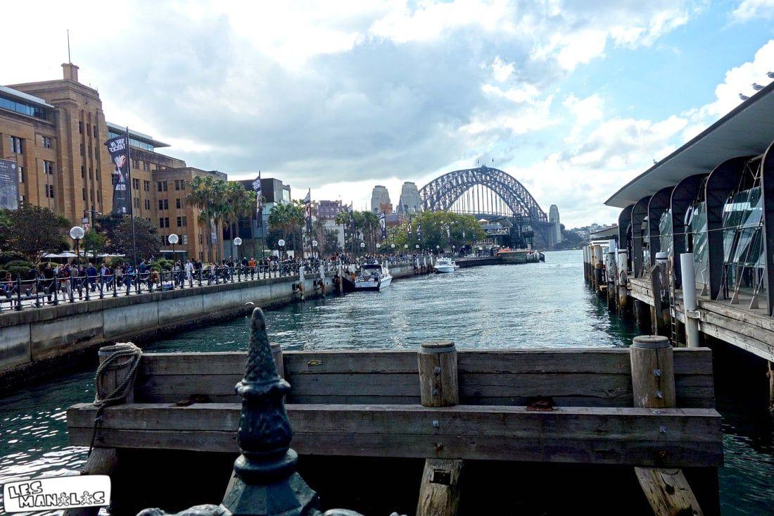 Le Harbour Bridge depuis les quais