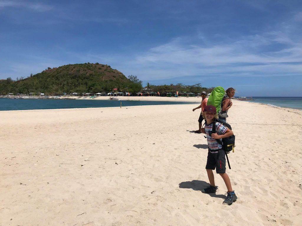 La Vagabond Family sur l'île de Malalison aux Philippines