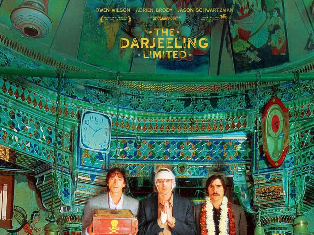 Affiche Film The Darjeeling Limited