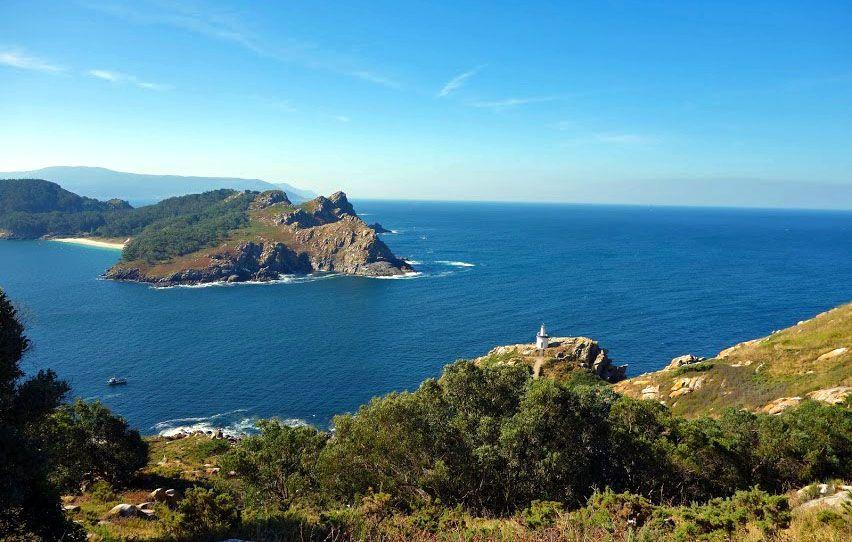Les îles Cies en Espagne
