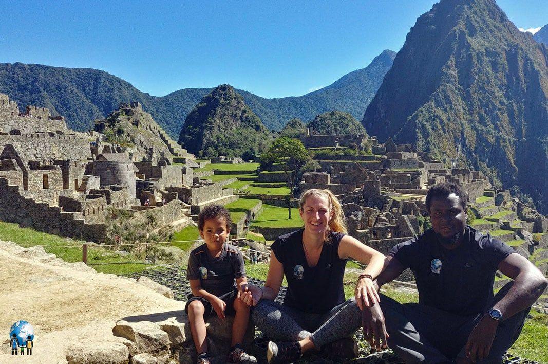 3 sacs autour du Monde au Machu Pichu