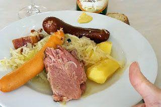 Une choucroute d'Alsace