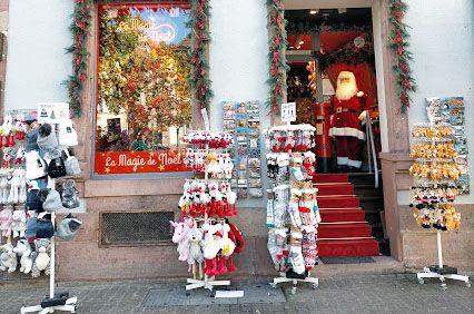 Boutique de Noël à Colmar